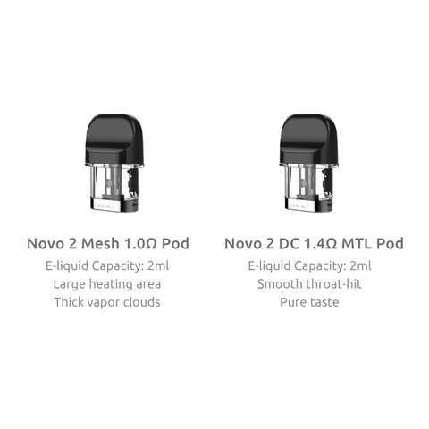 Novo 2 Pods - 3 Pack - By SMOK