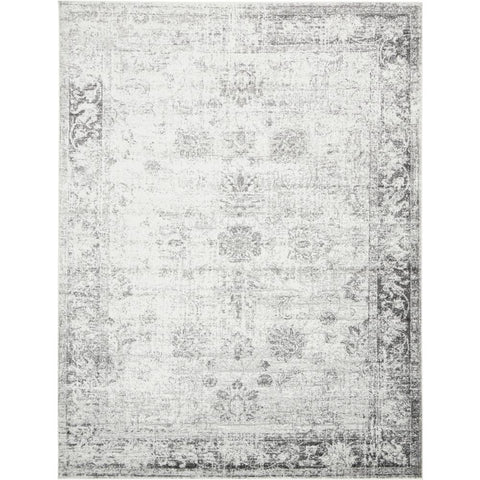 Sofia Casino Gray 9 ft. x 12 ft. Area Rug - From ATL Liquidators