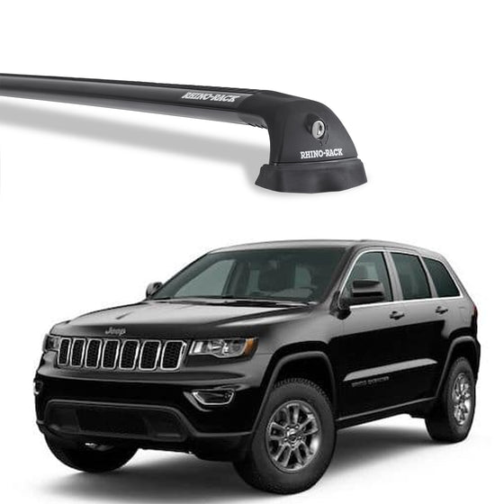 Rhino Rack 2011-2020 Jeep Grand Cherokee w/Roof rails Vortex RVP Roof Rack