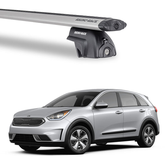 Rhino Rack 2017+ KIA Niro Vortex SX w/Flush Rails Roof Rack