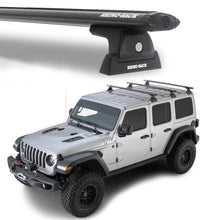 Rhino Rack 2018+ Jeep Wrangler JL 4 Door Vortex RLT600 3 Bar Backbone Roof Rack Kit