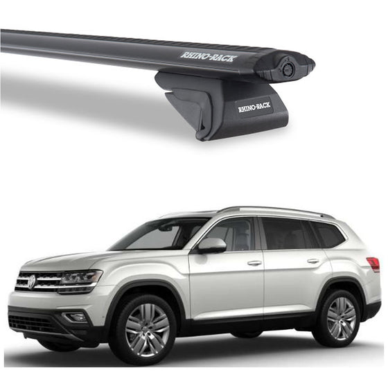 Rhino Rack 2018+ Volkswagen Atlas w/Rails Vortex SX Roof Rack
