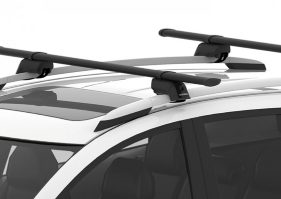 Yakima 2020+ Hyundai Venue SUV TimberLine Roof Rack w/Raised Rails