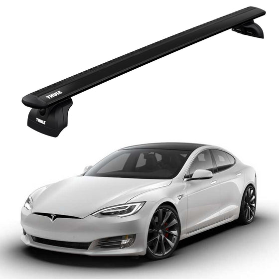 Thule 2015-2019 Tesla MODEL S w/Fixed Points & Glass Roof