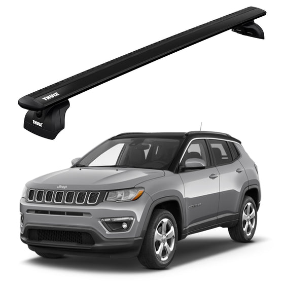 Thule 2017+ JEEP Compass 5dr SUV w/Flush Rails Roof Rack