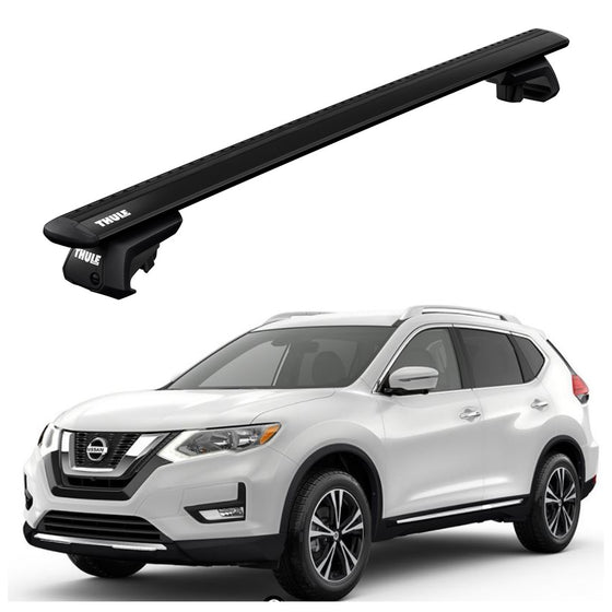 Thule 2017+ Nissan Rogue w/Railing Roof Rack
