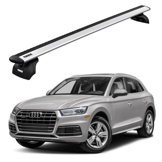 Thule 2018+ Audi Q5 w/Flush Rails Roof Rack