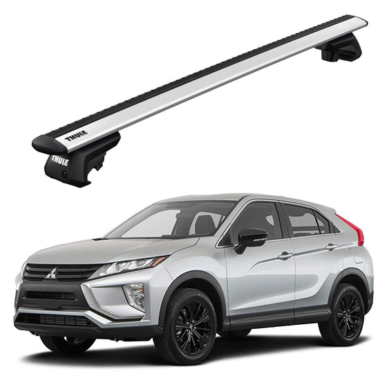 Thule 2019+ Mitsubishi Eclipse Cross Black Roof Rack