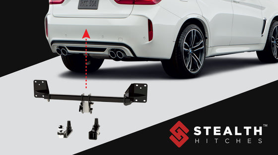 Stealth Hitches 2020+ BMW X6M (incl. Competition) Rear Hidden Trailer Hitch