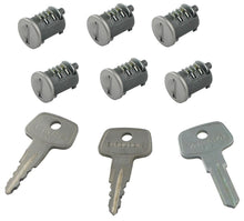Yakima SKS Locks with Keys (6-pack) | 8007206
