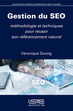 Gestion du SEO, livre SEO, Véronique DUONG, experte SEO international