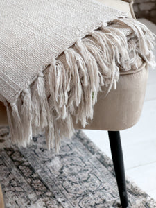 Champagne Weaved Throw