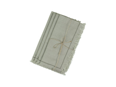 Amiens Fringed Napkins Set Of Four