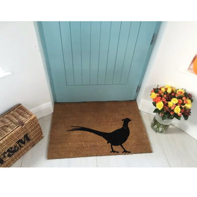 Country Pheasant Doormat