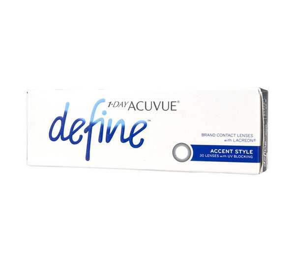 1-Day Acuvue Define 30 Pack – Accent Style