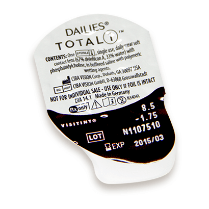 Dailies Total 1 Contact Lenses