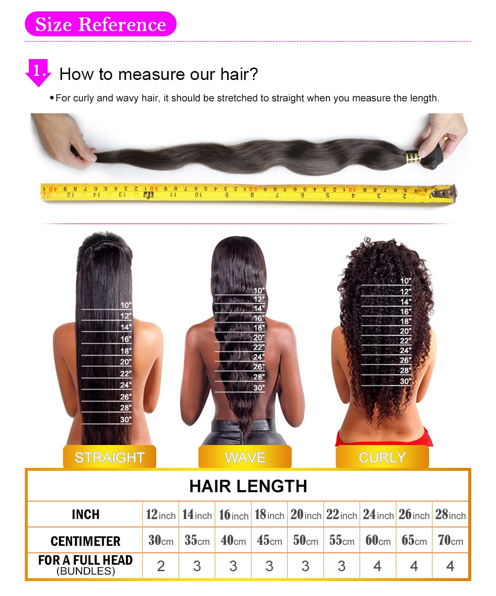 how to measure hair