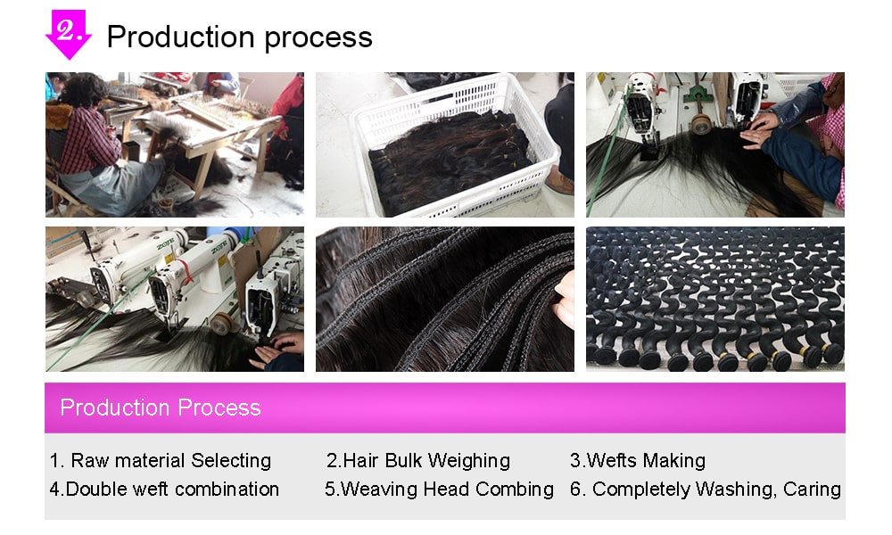 hair production process