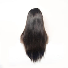 Charger l'image dans la galerie, Straight Full Lace Wigs Natural Black Color Virgin Hair - Lokshair