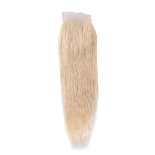 4x4 Lace Closure 613 blonde Straight cuticle aligned Virgin Hair-Loks - Lokshair