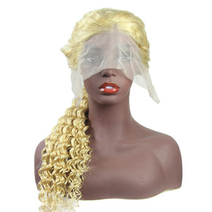 Loks 613 lace front wig with baby hair wholesale deep wave human hair - Lokshair