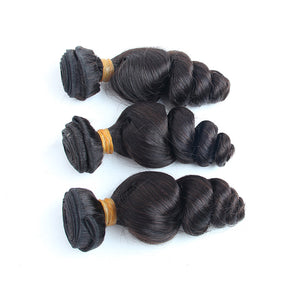 Best loose wave cuticle aligned hair 3 bundles wholesale-loks - Lokshair