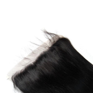 Brazilian cuticle aligned virgin Straight hair 3Bundles & Frontal-Loks - Lokshair