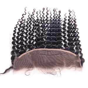 human hair vendor from peruvian Deep Wave 4 Bundles with Frontal-Loks - Lokshair