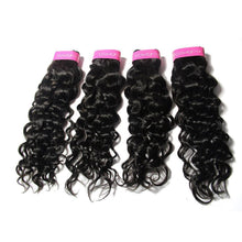 Load image into Gallery viewer, Loks Italian Curly 4 Bundles With Lace Closure - Lokshair