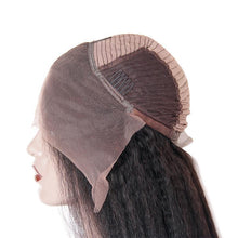 Load image into Gallery viewer, Loks Cool Kinky Straight Human Hair Lace Front Wigs - Lokshair