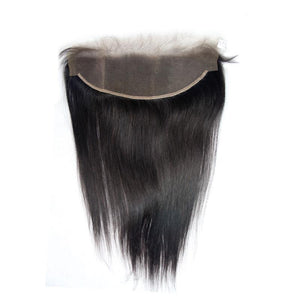 Loks Malaysian Straight virgin hair 4 Bundles with Frontal - Lokshair