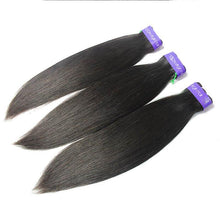 Load image into Gallery viewer, Loks peruvian straight human hair weaves 3 Bundles - Lokshair