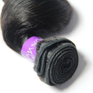 Loks Peruvian Virgin Hair Loose Wave 4 Bundles With Closure - Lokshair