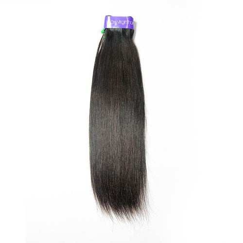 Loks Peruvian Straight Virgin Human Hair one Bundle - Lokshair