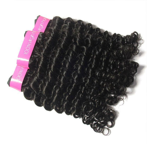 Loks Hair Remy Brazilian Curly Virgin Hair Weaves 3 Bundles - Lokshair