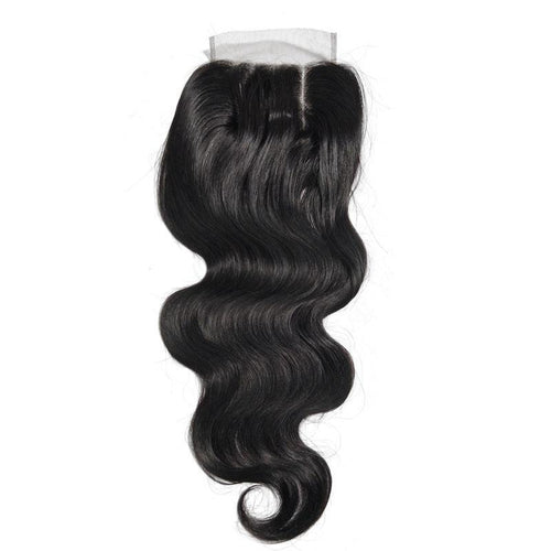 Straight Human hair Swiss lace 4*4