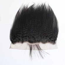 Load image into Gallery viewer, wholesale 13x4 lace frontal closure human hair kinky straight-Loks - Lokshair