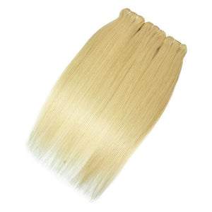 wholesale straight 613 blonde human virgin hair bundle vendors-Loks - Lokshair