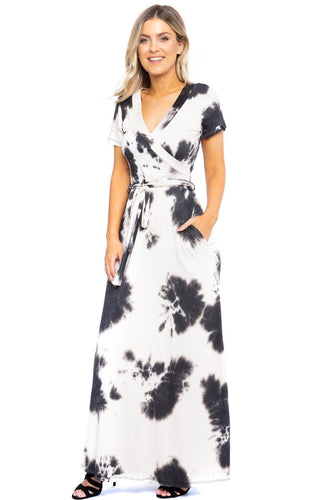 Breathable Summertime Maxi Dress - Black - Dreaming In Scarlett