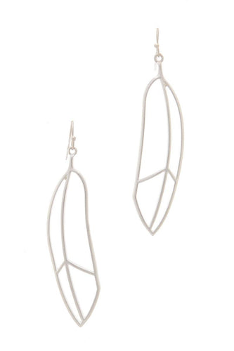 Metal Drop Earring - Dreaming In Scarlett