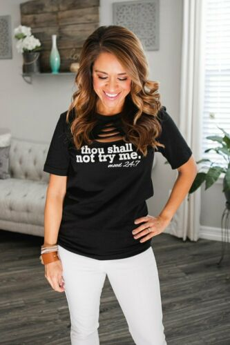 Don't Try Me T-Shirt
