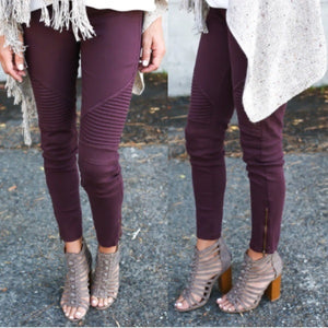 Just Kneed To Have Fun Leggings - Dreaming In Scarlett