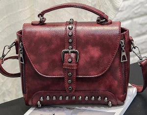 Tell Me About It Stud Bag - Dreaming In Scarlett