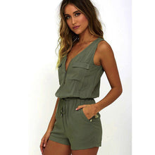 Load image into Gallery viewer, Weak In The Knees Romper - Dreaming In Scarlett
