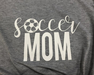 Soccer Mom T-Shirt - Dreaming In Scarlett