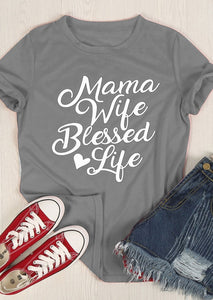 Blessed Life T-Shirt - Dreaming In Scarlett
