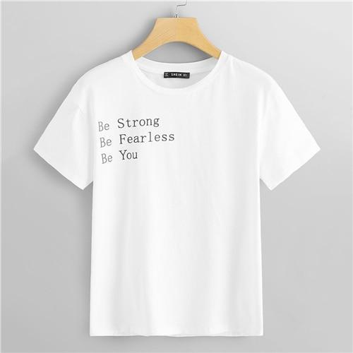 Strong Fearless You T-Shirt - Dreaming In Scarlett