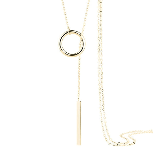 Pull It Together Necklace - Dreaming In Scarlett