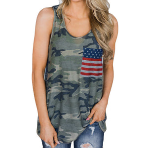 American Dreams Tank Top - Dreaming In Scarlett