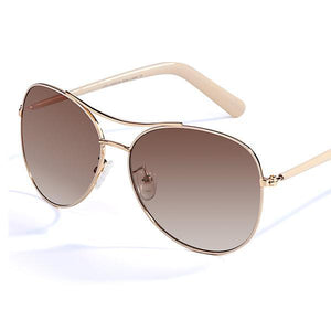 Just Be Myself Aviator Sunglasses - Dreaming In Scarlett